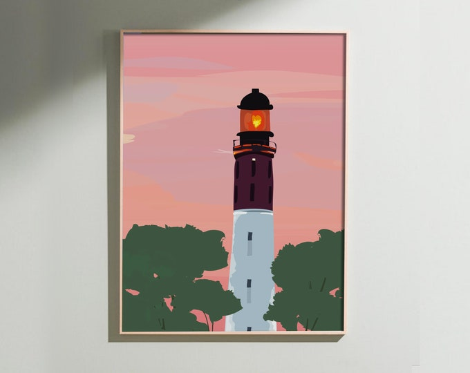 Lighthouse - Art Printing, limited series on large formats