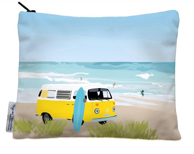 Pouch didouch: beach