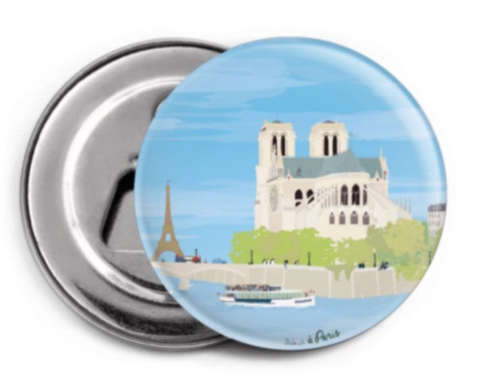 Stripper - Magnet didouch: Notre Dame
