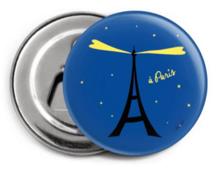 Stylized Eiffel Magnet - Magnet Paris
