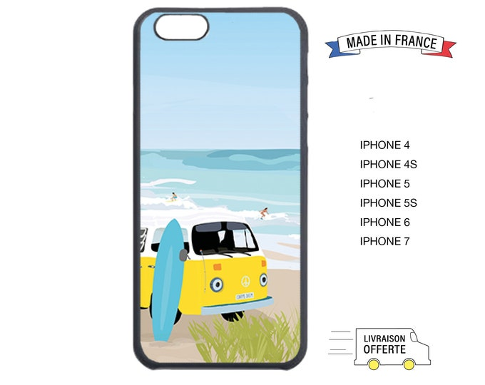 Didouch beach iphone case