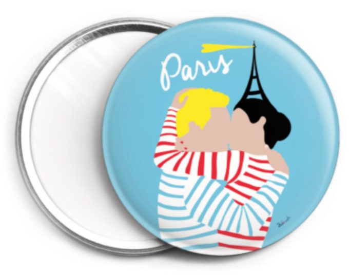 Mirror - 76 mm Paris I love you