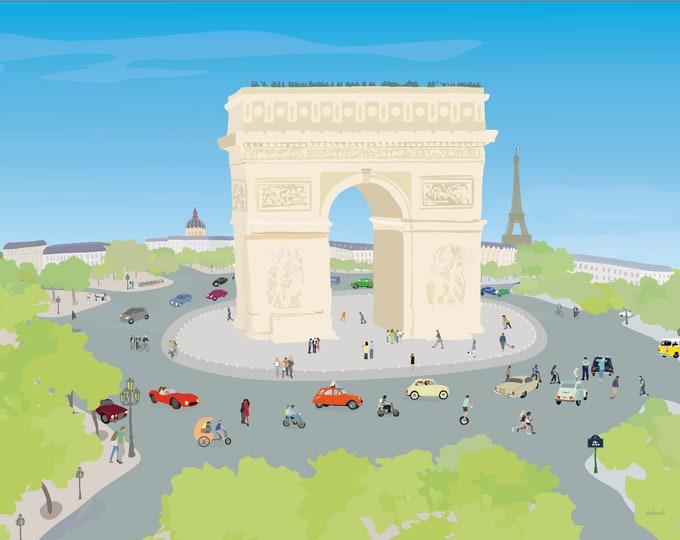 ART'PRINT Place de l'Étoile - didouch in Paris
