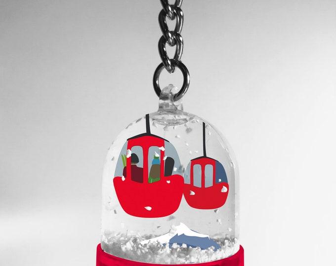 Snowball keychain Didouch Mountain