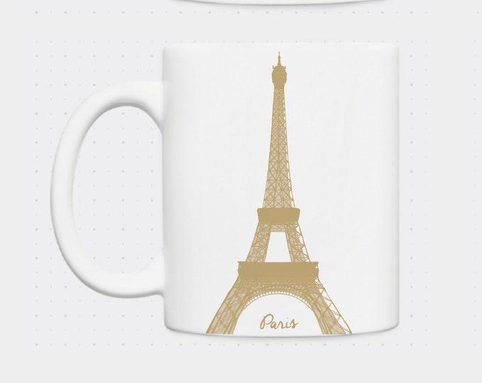 Mug Eiffel Tower in Didouch Paris