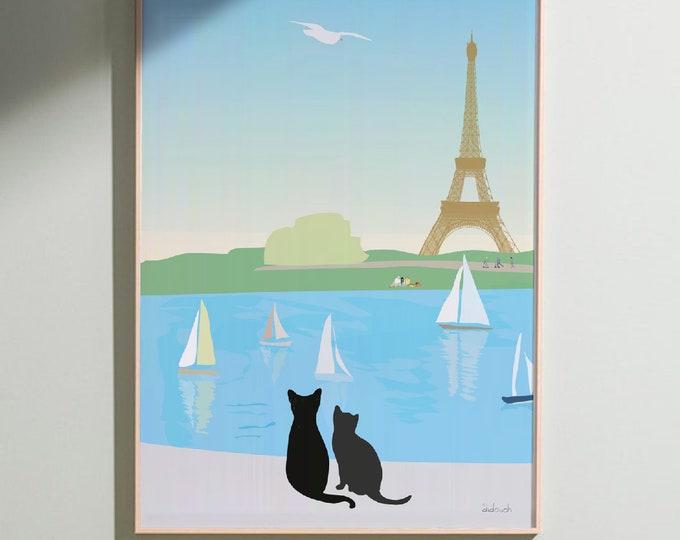 ART'PRINT At the Tuileries Garden - Paris collection