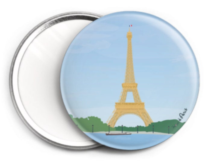Mirror, the Eiffel Tower of didouch