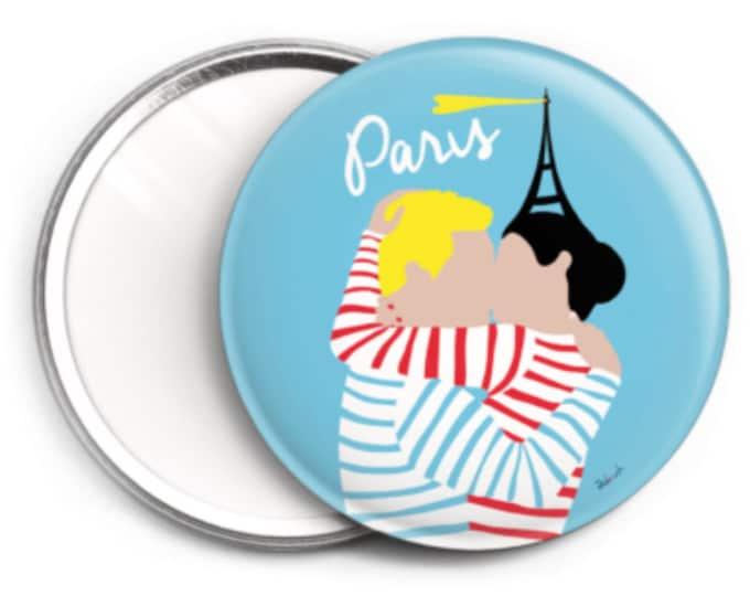 Mirror - 76 mm Paris I love you