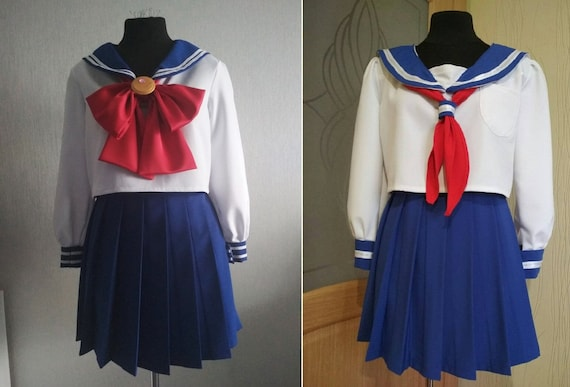 Sailor Moon Sailor V uniform Cosplay Costume Custom Made free shipping FF New