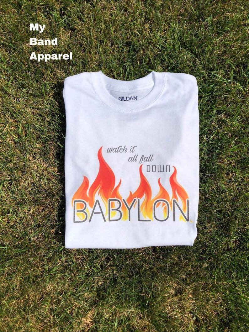 91f74160a72 5sos Babylon Shirt