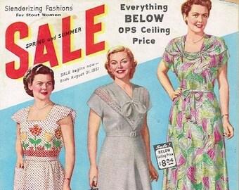 934472e5cc2 COMPLETE 1951 Lane Bryant Spring Summer Sale Catalog