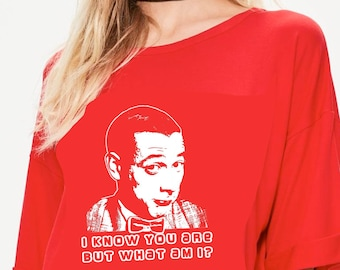 Pee Wee Herman shirt I Know You Are But What Am I tshirt Pee Wees Big Adventure shirt Vintage movie shirt 80s tshirt Vintage 80s tshirt