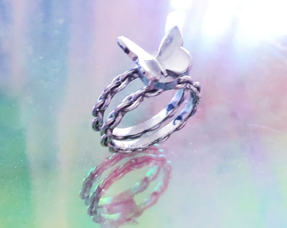 butterfly fantasy ring