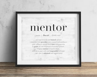 Mentor Gift Etsy