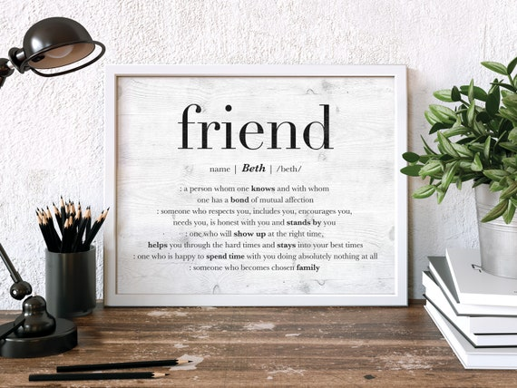 Best Friend Gift Personalized For Friendship