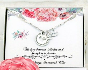 Christmas Gift For Mom Birthday Necklace Ideas Mother From Daughter Personalized Son Mommy And Me New