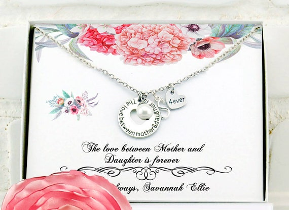 Christmas Gift For Mom Birthday Necklace