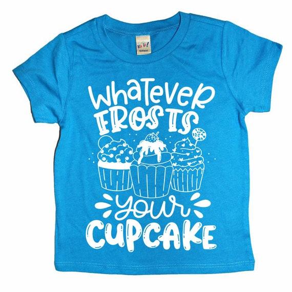 Funny Kids Shirt Cupcake Birthday