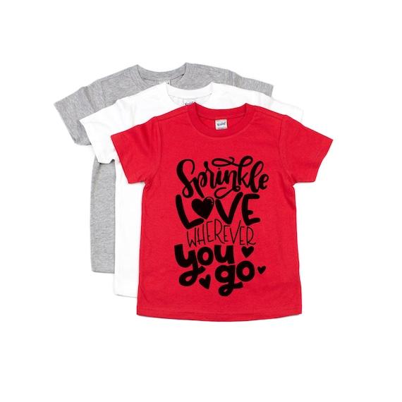 Kids Valentine S Day Shirt Vday Shirt Boys Shirt Girls Etsy