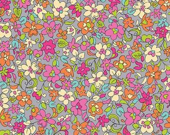 Summer Garden - 1309-11 Floret Gray - from Benartex