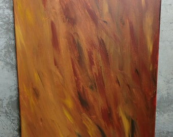 """16""""x20"""" Abstract Painting """"Sandstorm"""""""