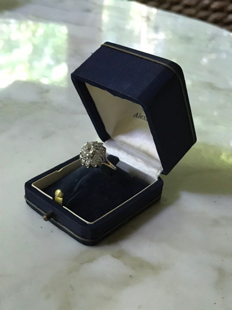 Ring Box with Brass Accents ? VintageAntique Egyptian