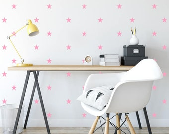 Star Wall Decals- Star Decals, Star Wall Stickers, Nursery Wall Decal, Kids Room