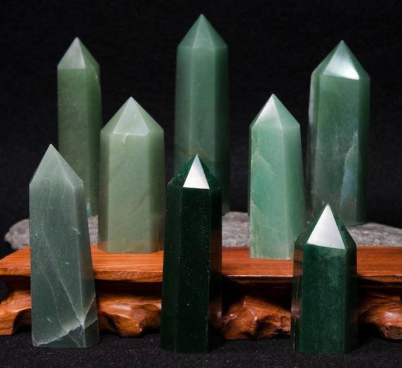 Aventurine Crystal barrette