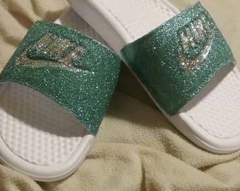 Glitter Nike Slide (women) f8a1f7dd1