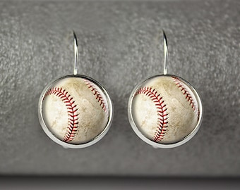 Baseball earrings, Baseball Moms earrings, Baseball jewelry, Baseball accessories, Baseball Moms jewelry