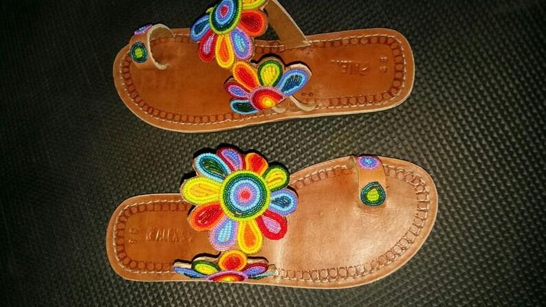 riadha maasai sandals