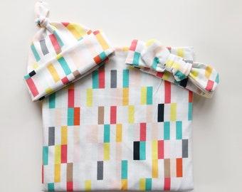 a20829362b9 Confetti swaddle blanket set