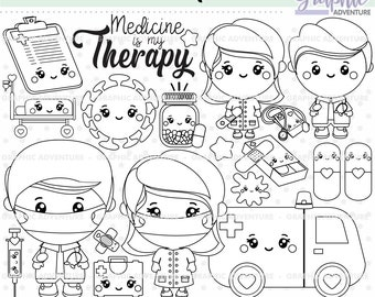 Teddy Bear Check Up His Medical Condition Coloring Page : Coloring Sky | 270x340