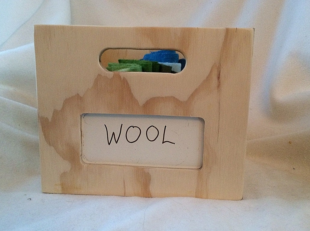 Rug Hooking Wooden Crate Storage Accessory For Your Rug Hooking Supplies Fits In Ikea Billy Bookcase