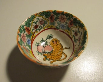 Feeding Vintage Excello Warming Baby Dish In Metal Holder Three Little Pigs Street Price Baby