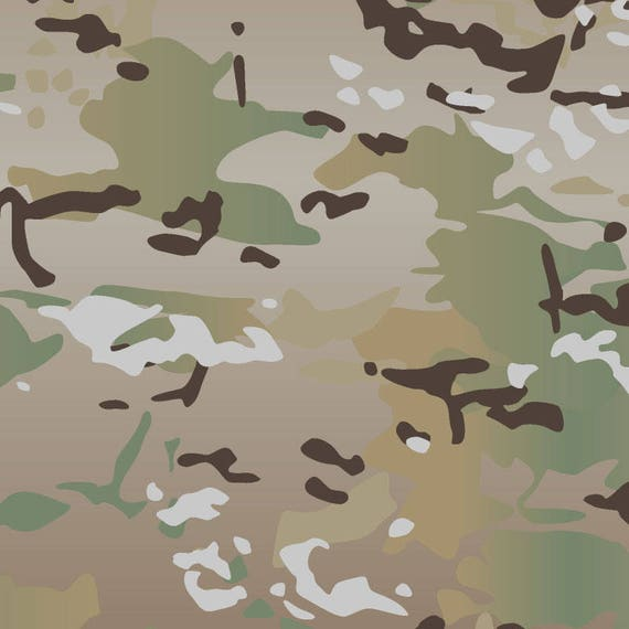 original multicam vector camouflage pattern for printing etsy