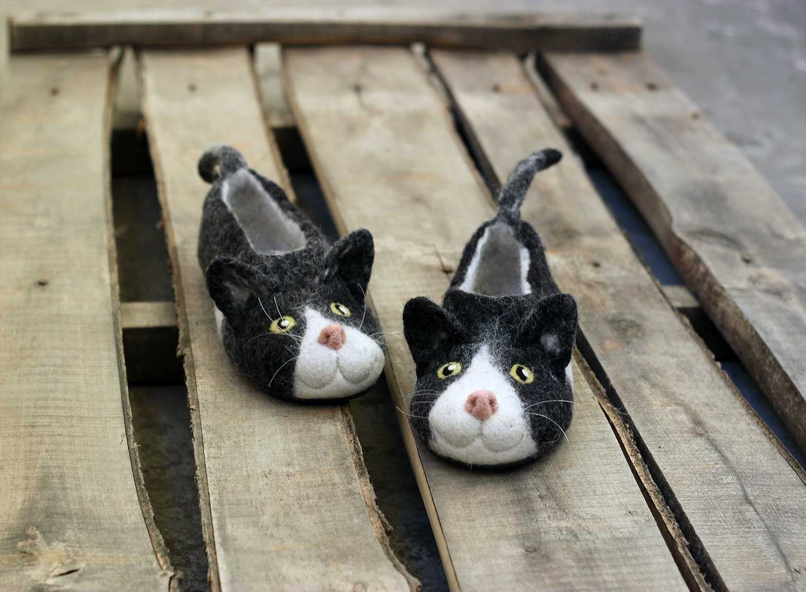 Joy For All Black White Tuxedo Cat Collectible Feels Like a Real Cat New
