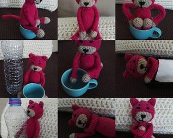Amineko cat crochet blanket