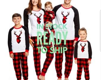 Family pajamas   Etsy
