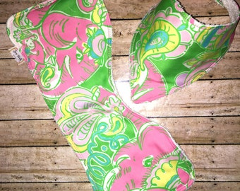 Lilly Pulitzer Burp Cloth & Bib Set