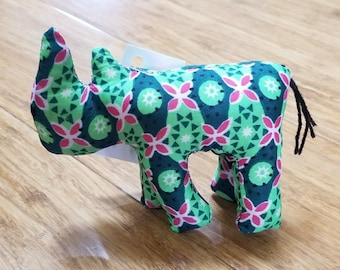 Rhino (Rhinoceros) Africa, African fabric stuffed animal