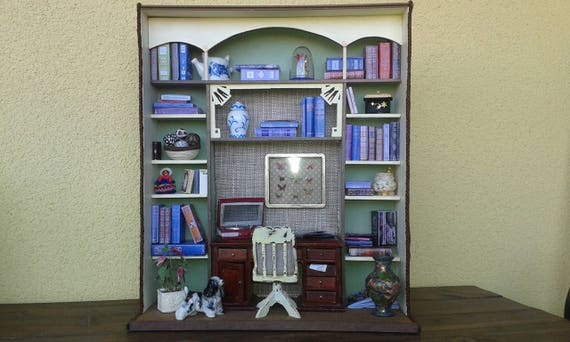 Corner Doll House Roombox