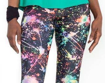Galaxy print legging