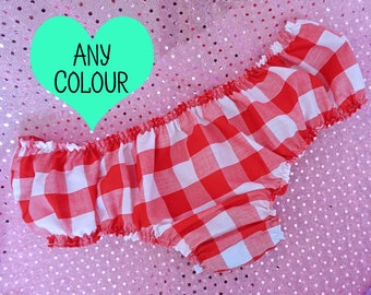 Satin Panties Sissy Maid Lingerie DDLG Crotchless Panties Pride Clothing Adult