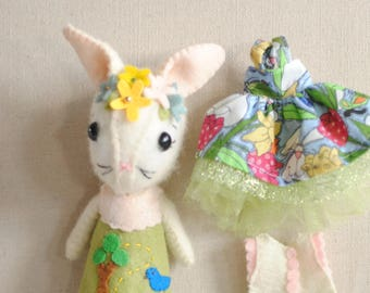 Gingermelon Wool Bunny