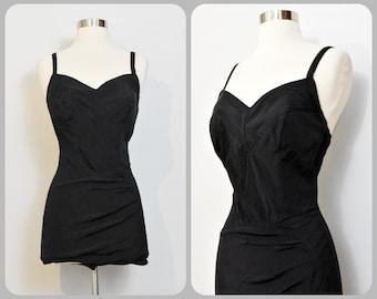 8947f652e44 Lane Bryant Tall Over Five Seven Shop Black 60s Swimsuit