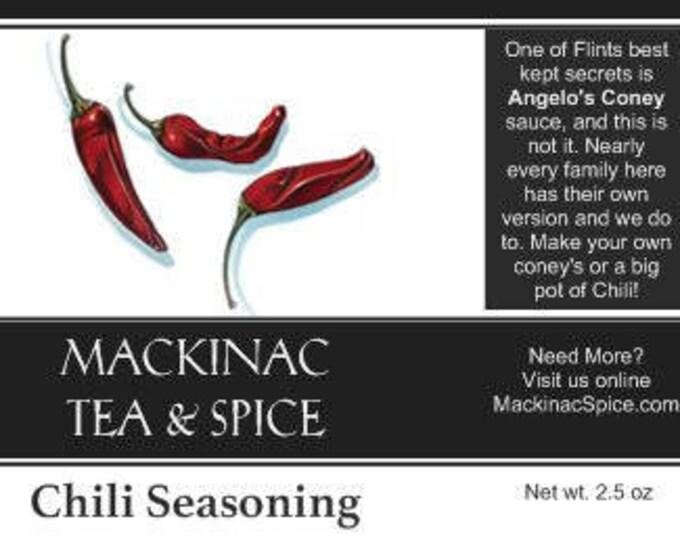 CHILI SEASONING -  Great Coney and Chili blend