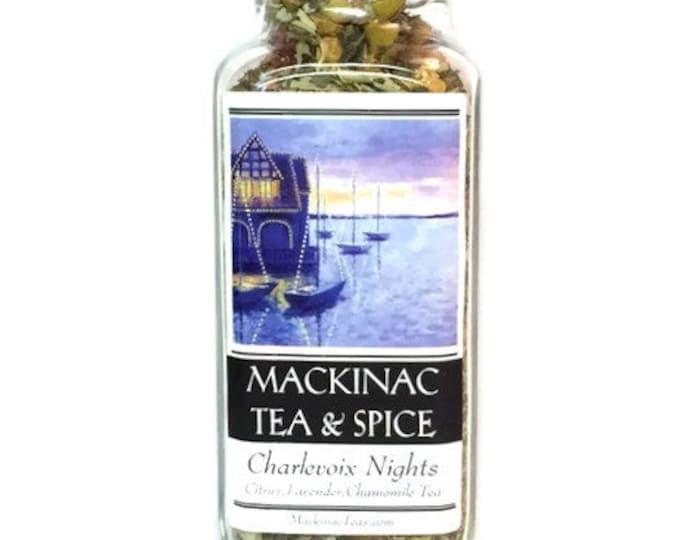 CHARLEVOIX NIGHTS- Floral Lavender Tea/Enlightening Blend of fruit & flower Tea
