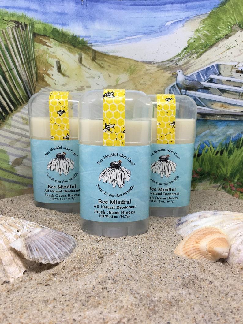 Bee Mindful All Natural Deodorant Ocean Breeze Deodorant image 0