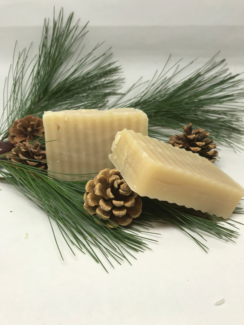 Bee Mindful Pine Soap Pine Soap USA Sourced Pine Resin Soap image 0